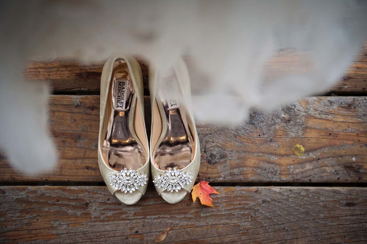 fall strathmere wedding