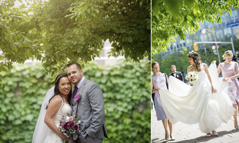 Downtown Ottawa Wedding Portraits
