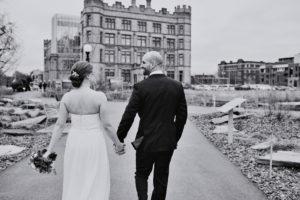 lifestyle wedding portrait