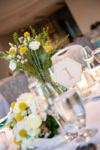 detail, wedding reception